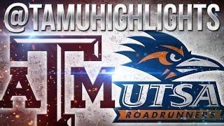 Texas A&M Highlights vs UTSA 11-19-2016 ᴴᴰ