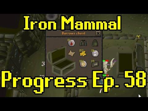 Oldschool Runescape - 2007 Iron Man Progress Ep. 58 | Iron Mammal