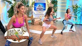 Fitness la Neatza cu Diana Stejereanu! Ramona Olaru si Amalia Stefania au boxat, in direct ...
