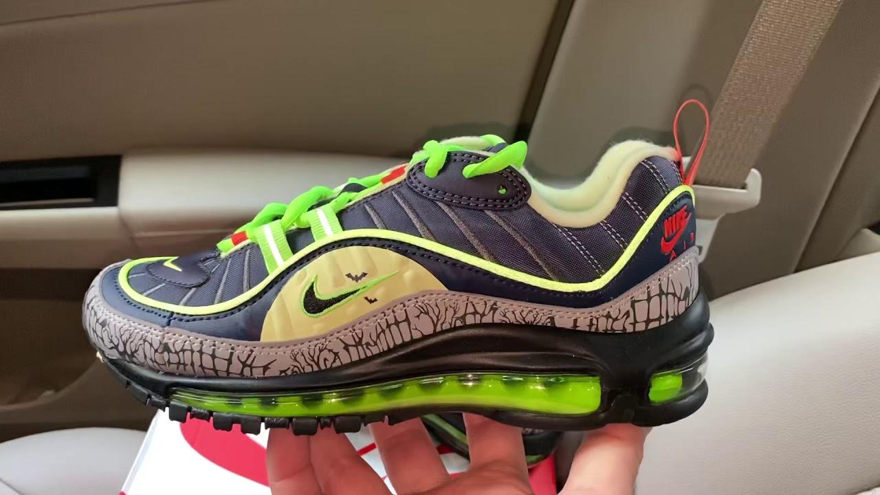 Nike Air Max 98 Halloween shoes