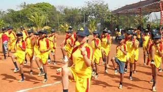 Jai Ho- Sunshine Worldwide school Old Goa- sports day