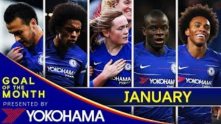 GOAL OF THE MONTH: January
