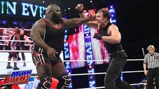 Mark Henry vs. Dean Ambrose - United States Championship Match: Main Event, March 11, 2014