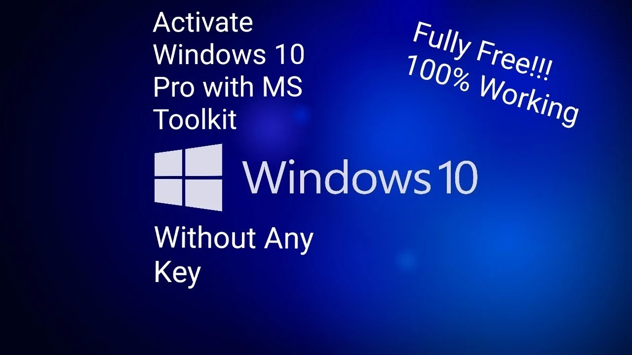 download microsoft toolkit to activate windows 10 pro