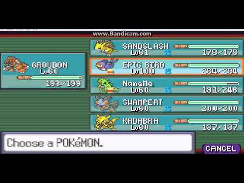 Pokemon Ruby Elite 4 Perfect Team Youtube