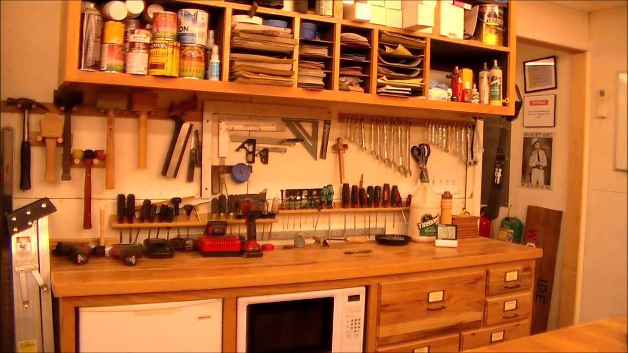 IDE Woodworking Shop Tour - YouTube