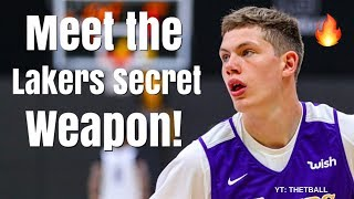 Meet the Los Angeles Lakers Secret Weapon! | Mo Wagner Can THRIVE With LeBron James & Lonzo Ball!