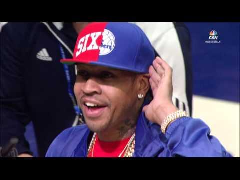 Philadelphia 76ers Honor Allen Iverson