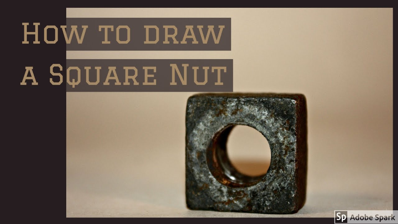 A Square Nut (A/F) (A/C) method.