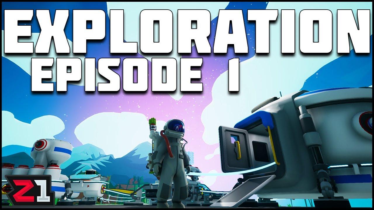 Astroneer Exploration Update Series Episode 1 ! | Z1 Gaming