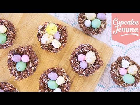 How To Make THE BEST Chocolate Nests For Easter! | Cupcake Jemma