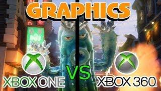 PvZ Garden Warfare - Xbox One vs Xbox 360 Graphics Comparison