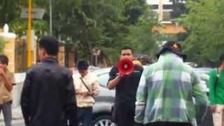 Demo Mahasiswa UIN Sunan Kalijaga Menggugat MP3EI