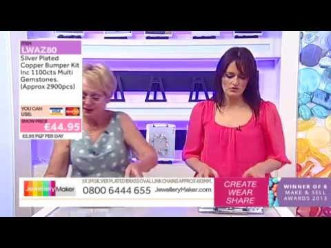 How To Make Boutique Jewellery - JewelleryMaker LIVE (AM) 18/10/2014