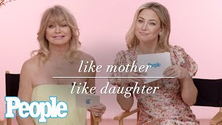 Like Mother, Like Daughter: Goldie Hawn And Kate Hudson | The Beautiful Issue 2020 | PeopleTV