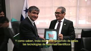 Embajador de la República de la India visita la UTP