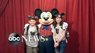 A magical family vacation and Mickey Mouse's surprise thumbnail