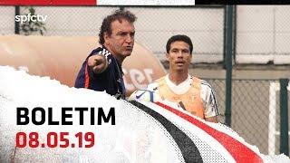 BOLETIM DE FINALIZAÇÕES: 08.05   SPFCTV