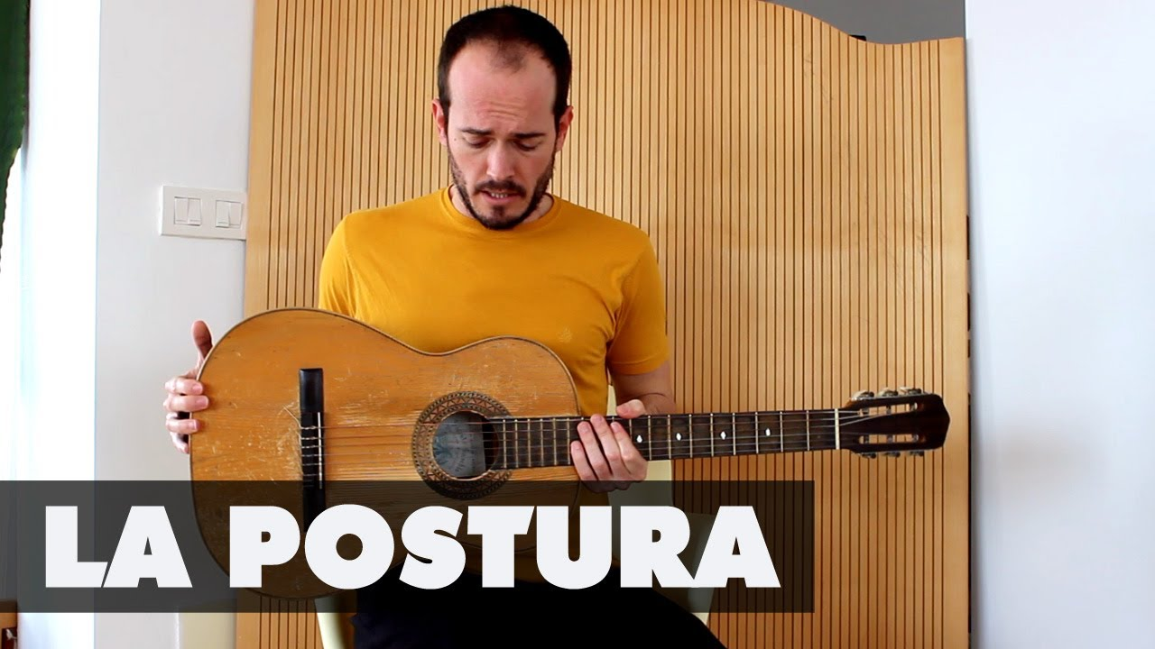 La postura para tocar - Tutorial Guitarra Principiantes - YouTube
