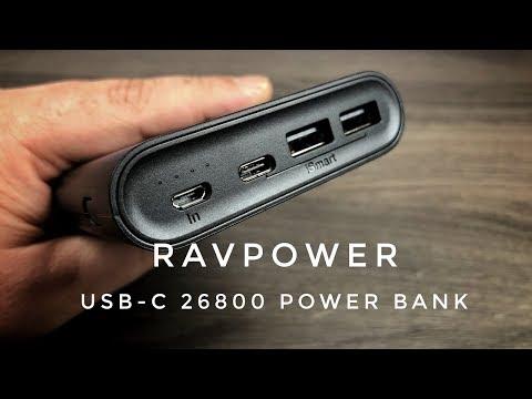 RAVPower 26800 MAh USB-C Power Bank