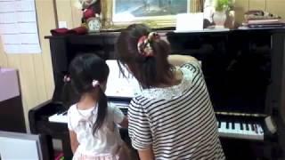 aikaの初ピアノ教室。
