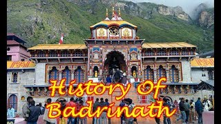 HISTORY OF BADRINATH TEMPLE