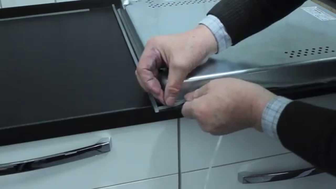 Montage Von Ceranfeld Kochplatte Und Induktionsfelder - Youtube