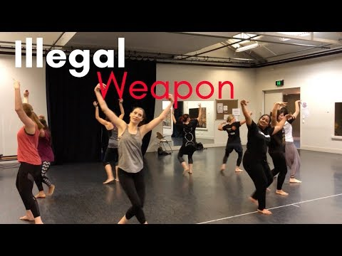 Illegal Weapon | Bhangra Class Choreography | Dance Masala