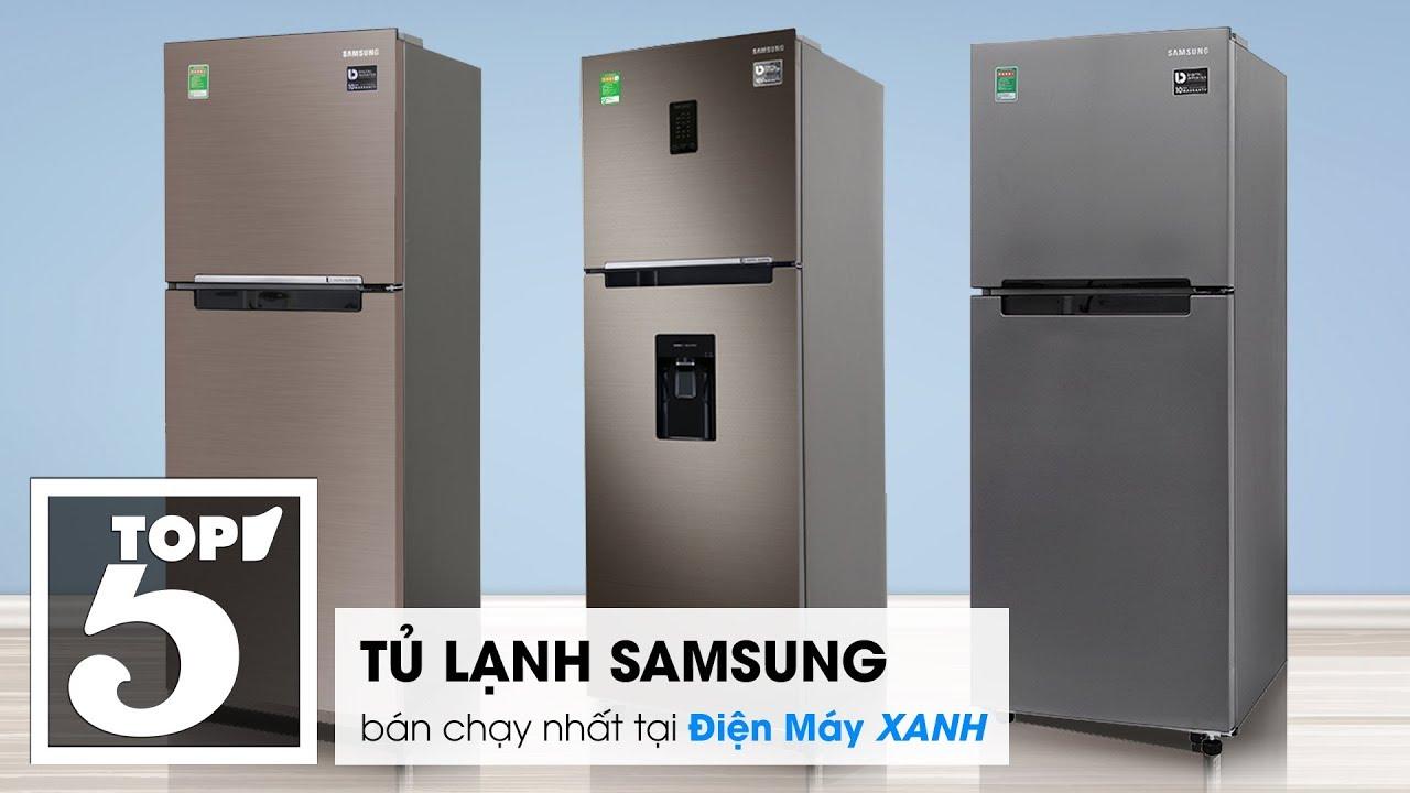 Top 5 tủ lạnh Samsung bán chạy nhất tại Điện máy XANH năm 2018