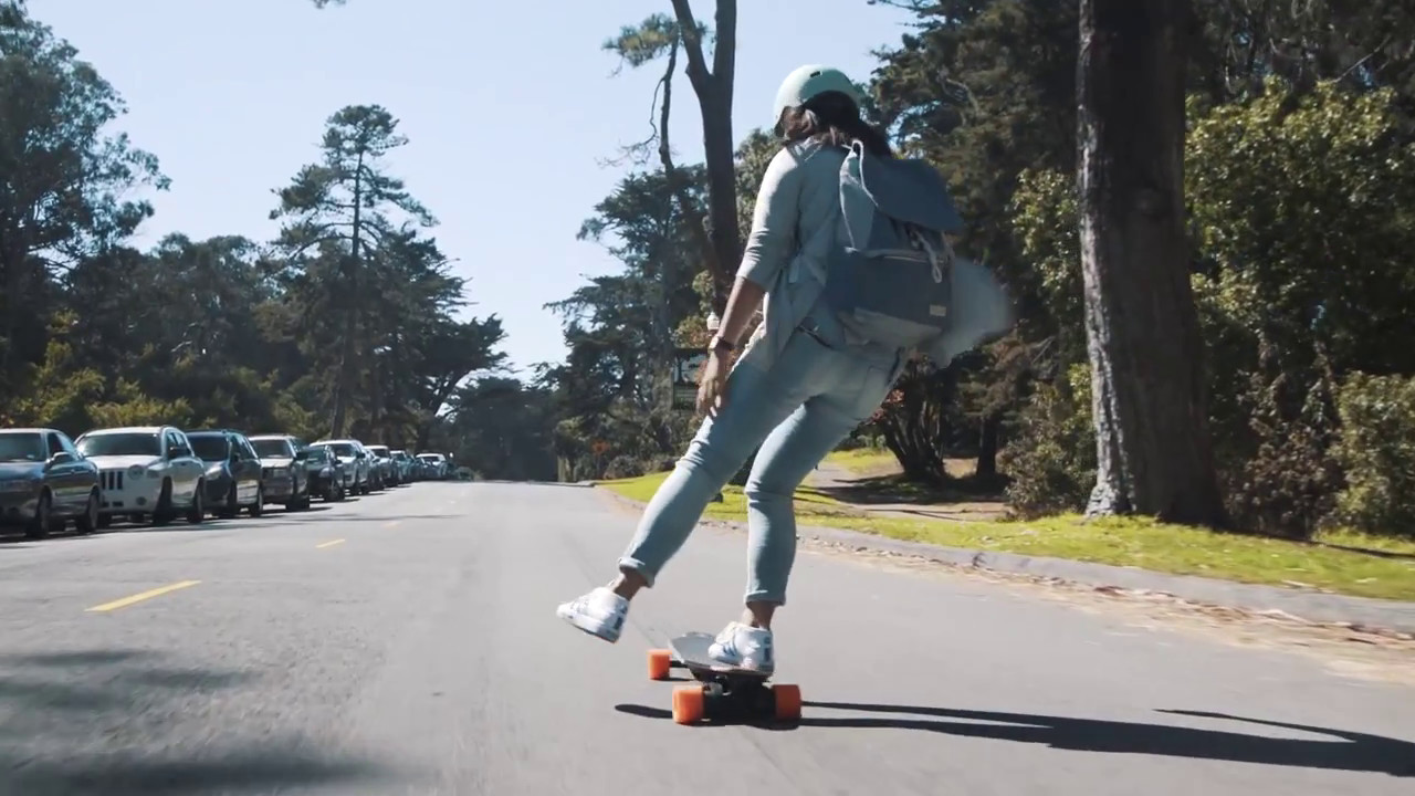 Image result for riding a boosted board