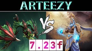 Arteezy [Viper] vs [Zeus] ► Top Tier EU Ranked ► Dota 2 7.23f