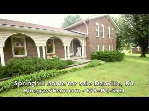 Danville KY house for sale Kentucky home MLS Boyle County near Centre College