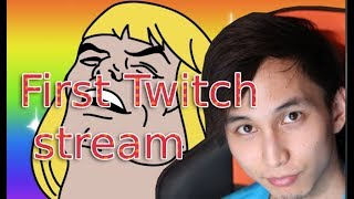 SingSing - First recorded Twitch stream (August 2011)