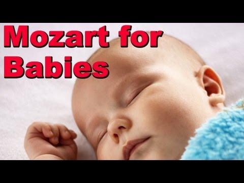 This Mozart for Baby does relax and makes my baby sleep like an angel !
