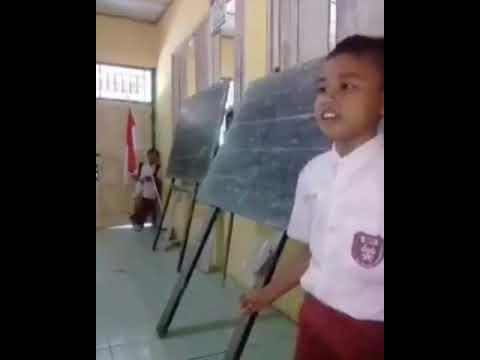 Video Lucu Anak SD Nyanyi Cublak-Cublak Suweng Malah Jadi Jorok