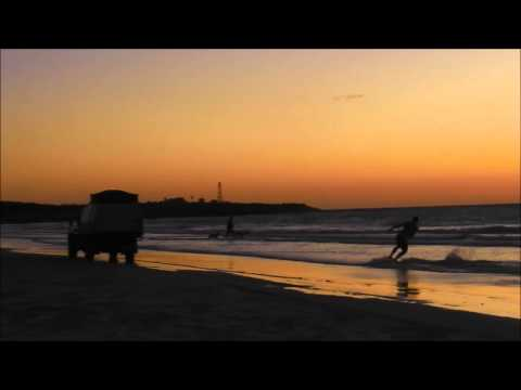 Surfing without waves! - Sunset at Cable Beach in Western Australia