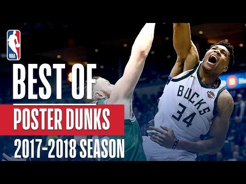 Best Poster Dunks of the 2018 NBA Season! Giannis Antetokounmpo, LeBron James, Joel Embiid