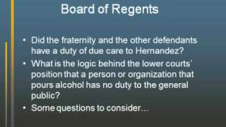 Chapter 7 Negligence & Strict Liability (Part 1 of 2)