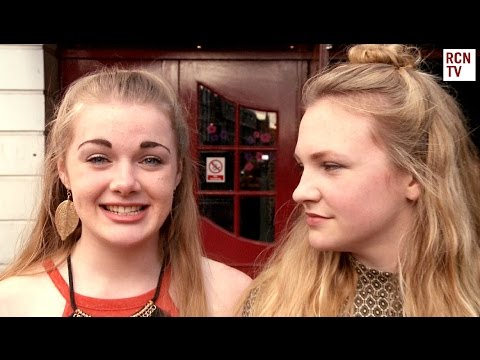 Eloise Laurence & Meg Suddaby  London Road Premiere