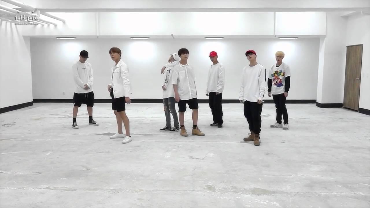 BTS-Fire 舞蹈鏡面版