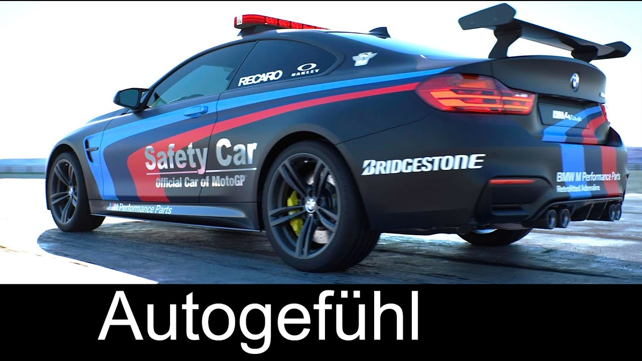 BMW M4 MotoGP Safety Car With Water Injection Technology   Autogefühl