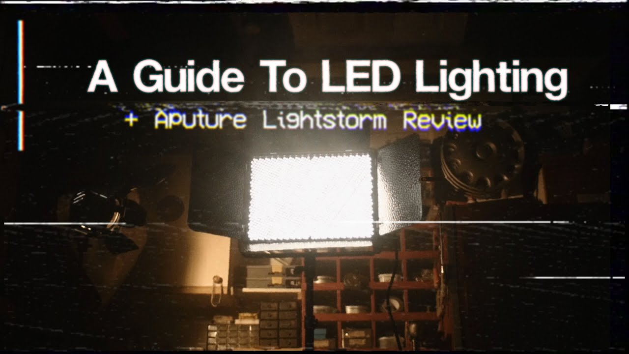 LED Lighting Guide u0026 Aputure Lightstorm Review - DSLR Cinematography Tips - YouTube & LED Lighting Guide u0026 Aputure Lightstorm Review - DSLR ... azcodes.com