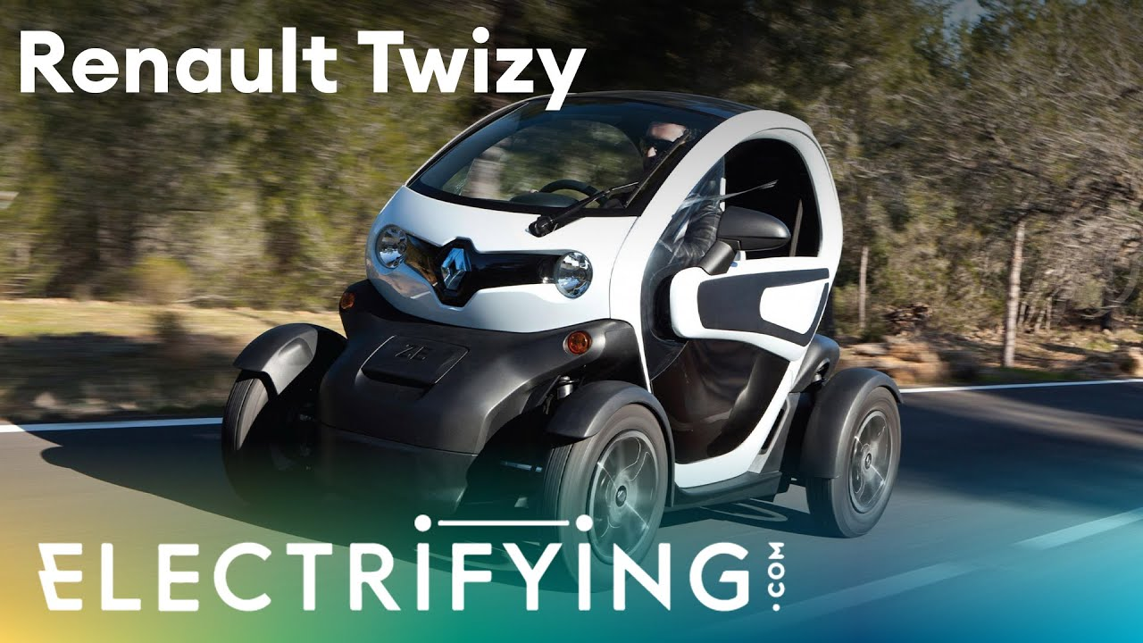 Renault Twizy 2020: Studio review with Nicki Shields & Tom Ford / Electrifying