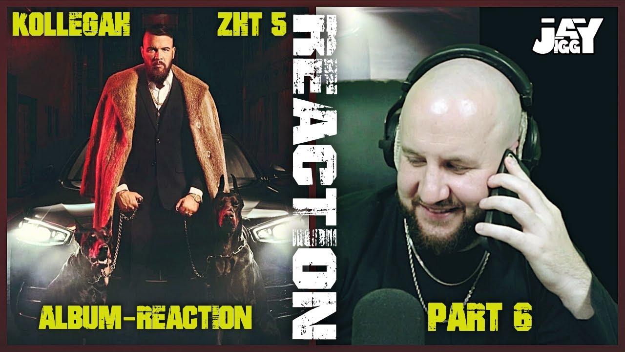 """(PART 6) KOLLEGAH """"ZHT 5"""" Album-Reaction I Crimelords, Angeldust, Frühling"""