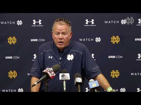 Brian Kelly Press Conference - August 12, 2017