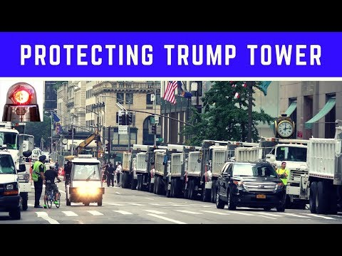 Trump Tower Security: Dump Trucks Full of Sand, Secret Service Agents and NYPD