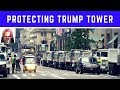 Secret Service in Action: President Trump Tower Security with NYPD Police