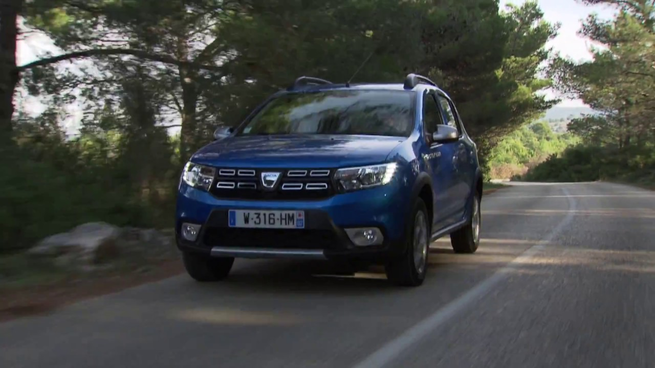 new dacia sandero stepway 2017 youtube. Black Bedroom Furniture Sets. Home Design Ideas