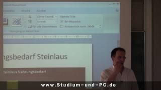 PowerPoint Folienübergänge erstellen - http://www.Studium-und-PC.de