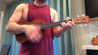 Post Malone, Swae Lee - Sunflower (Spier-Man: Into The Spider-Verse) Ukulele Cover Video